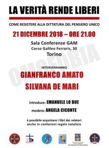 Venerdì 21 dicembre alla GAM Silvana de Mari Community