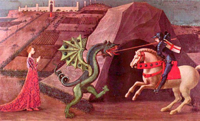 San Giorgio e il drago silvana de mari community